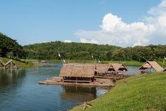 HARIRAK森林公园,黎府,泰国 2015年10月17日: 免版税图库摄影