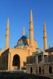 Hariri Mosque. In Beirut,Lebanon Royalty Free Stock Photography