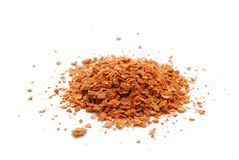 Harissa Spice. Mixture isolated on white background Royalty Free Stock Photography