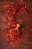 Harissa spice mix - morrocan red hot chilles mixed. Traditional  harissa spice mix - morrocan red hot chilles mixed Stock Photography