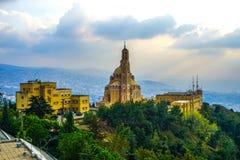 Harissa vår dam av Libanon 10 royaltyfri fotografi