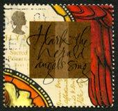 Hark Herald Angels Sing royaltyfria bilder