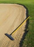 Hark in zandbunker Stock Fotografie