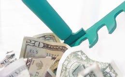 Harken im Bargeld Lizenzfreie Stockfotos