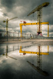 Harland & Wolff shipyard Royalty Free Stock Photos