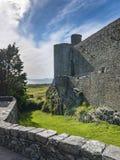 从Harlech城堡的看法 库存图片