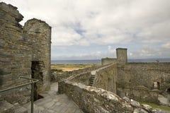 harlech замока Стоковая Фотография