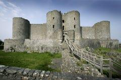 harlech замока стоковое фото rf