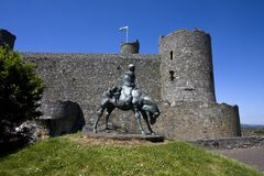Harlech Castle Royalty Free Stock Photo
