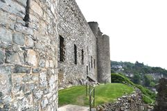 Harlech castle Stock Photo