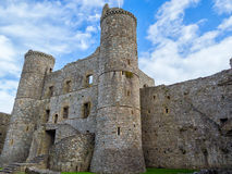 Harlech Castle Στοκ φωτογραφία με δικαίωμα ελεύθερης χρήσης