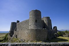 Harlech Castle Stock Photos