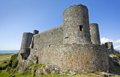 Harlech Castle, North Wales Royalty Free Stock Photos