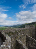 Harlech castle Royalty Free Stock Photos