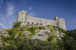 Harlech Castle Royalty Free Stock Images