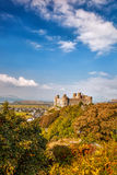 Harlech Castle in Wales, United Kingdom, series of Walesh castles Royalty Free Stock Photography