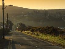 Harlech kasztelu wschód słońca Obraz Stock