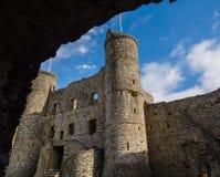 Harlech-Schloss Stockbild
