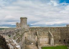 Harlech slott Arkivbild