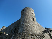 Harlech slott arkivfoto