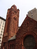 Harlem church. Historic church in Harlem - New York Royalty Free Stock Image