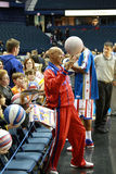 Harlem Globe Trotters Curly Neal Royalty Free Stock Photo