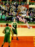 Harlem Globetrotters in action - Italian tour 2010 Royalty Free Stock Images