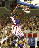 Harlem Globetrotters in Budapest Royalty Free Stock Image
