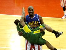 Harlem Globetrotters - Italian tour 2010 Stock Images