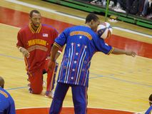 Harlem Globetrotters - Italian tour 2010 Royalty Free Stock Photo
