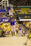 Harlem Globetrotters World Tour - Big Easy Lofton. Image of Big Easy Lofton of the world famous Harlem Globetrotters basketball team in action against Washington Royalty Free Stock Image