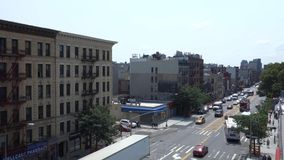 Harlem in New York City stock video footage
