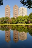 Harlem Meer in Central Park Royalty Free Stock Image