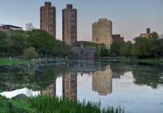 Harlem Meer, Central Park, New York Royalty Free Stock Photo