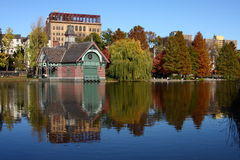 Harlem Meer, New York photographie stock libre de droits