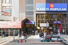 Harlem street scene Stock Images