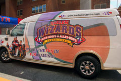 Harlem wizards van. Stock Photos
