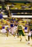 Harlemglobetrotters-Basketball-Tätigkeit (verwischt) Stockbilder