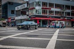 Harlemstraat Royalty-vrije Stock Foto