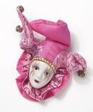 harlequin клоуна Стоковые Изображения