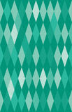 Harlequin argyle vector seamless pattern. Abstract green harlequin argyle vector seamless pattern with lozenge elements, that look like diamonds or emeralds Royalty Free Stock Images