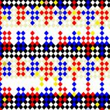 Harlequin checks pattern Royalty Free Stock Images