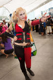 Harlequin at Comic Con Royalty Free Stock Images