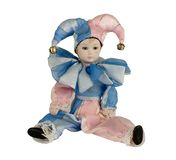 Harlequin doll Stock Images