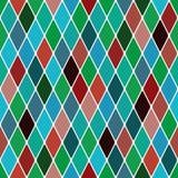 Harlequin 'Mardi Gras' pattern Stock Photography