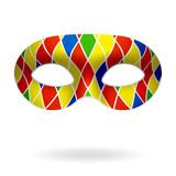 Harlequin mask Royalty Free Stock Photo