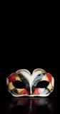 Harlequin mask Stock Image