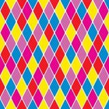 Harlequin particoloured seamless pattern VII. (Illustrator royalty free illustration
