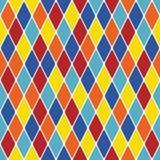 Harlequin particoloured seamless pattern X. (Illustrator stock illustration