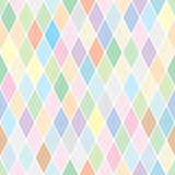 Harlequin pastel pattern Royalty Free Stock Images
